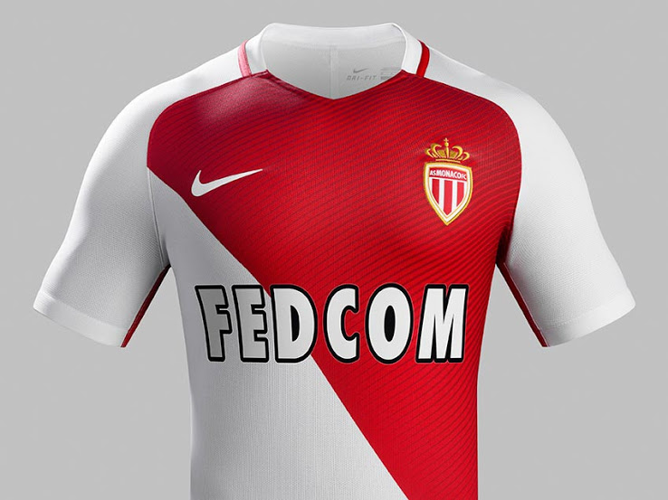 ensemble de foot AS Monaco ÉQUIPE
