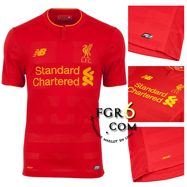 tenue de foot Liverpool de foot